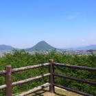 讃岐富士を望む