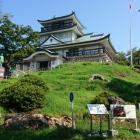 山頂に建つ歴史館