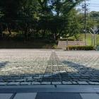 市役所前の大手道の跡