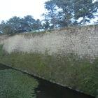 高石垣(扇の勾配)