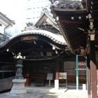 三津寺の境内