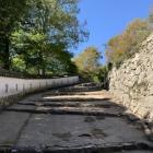 白壁と石垣