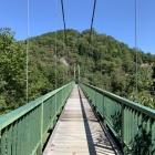 大松山つり橋(揺れます!)