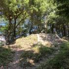 天神の丸跡(天神社は麓に移されている)