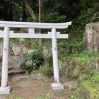 城址碑(読みにくい)