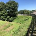 本丸外の堀跡