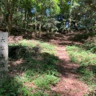 石碑「大松山城跡」