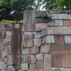 玉泉院丸庭園:色紙短冊積石垣