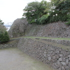 天守台と本丸東面城塁石垣