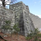 桜御門高石垣と