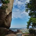 八丈岩の見張り台