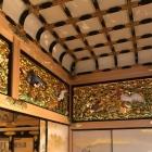 上洛殿の折上げ格天井