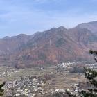 枡形城から真田の郷が望めます