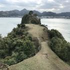 東南出丸と鯛崎島(出丸)
