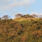 往時の名残が在る鳥取城山上の丸、20181103撮