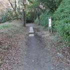 障子堀跡と土塁