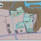 平井城案内図