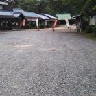 護国神社社務所前駐車場