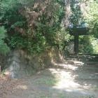 公園西側の住宅の門