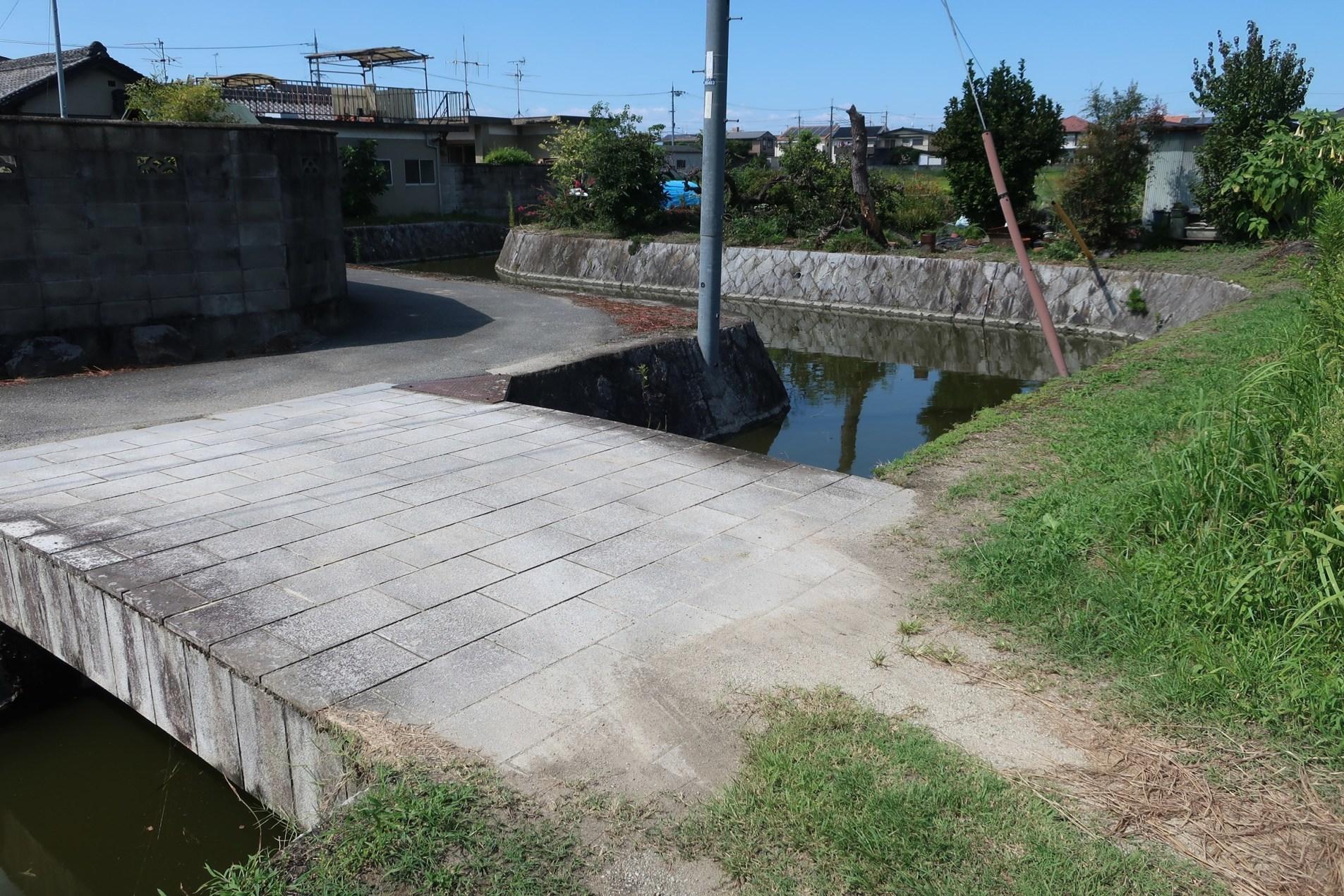 北東部の集落入口(七曲り付近)