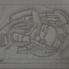 古宮城縄張図