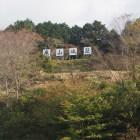 亀山城本丸(標示板)