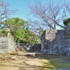 本丸城門跡(西側)