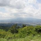 富士山頭は雲に覆われ、晴れたら超絶景