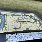 九戸城の模型がありました