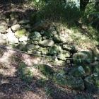 破城の際の石垣