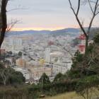 桜の段から見る中村市街