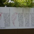 久能山城の事がかかれた解説版