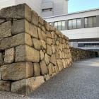 艮櫓跡と東の丸石垣