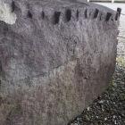 石垣用石材(刻印)