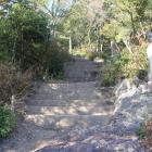 本曲輪登城階段