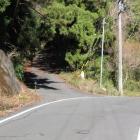 林道入口、今田沢城道標は無い