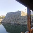 鞘橋から見る天守台