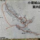 案内図(左上が分岐点です)