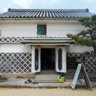 白壁土蔵の高松城址資料館