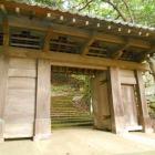 移築された津和野城の門