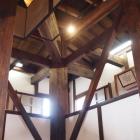 最古の木造復建天守