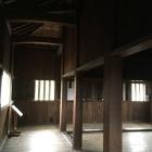 現存の東南隅櫓内部