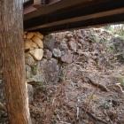 横堀の石垣