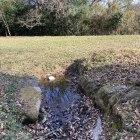 イワオ丸 井戸でしょうか?池でしょうか?水に映った空が綺麗です。