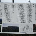 長禅寺入口横にある説明板
