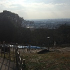 山頂から清洲城方向