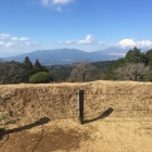 西櫓から富士山方向