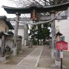 可毛羽神社は、内郭ではなく外郭に有るのかな?