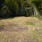 墓域端の土塁と思われる形状