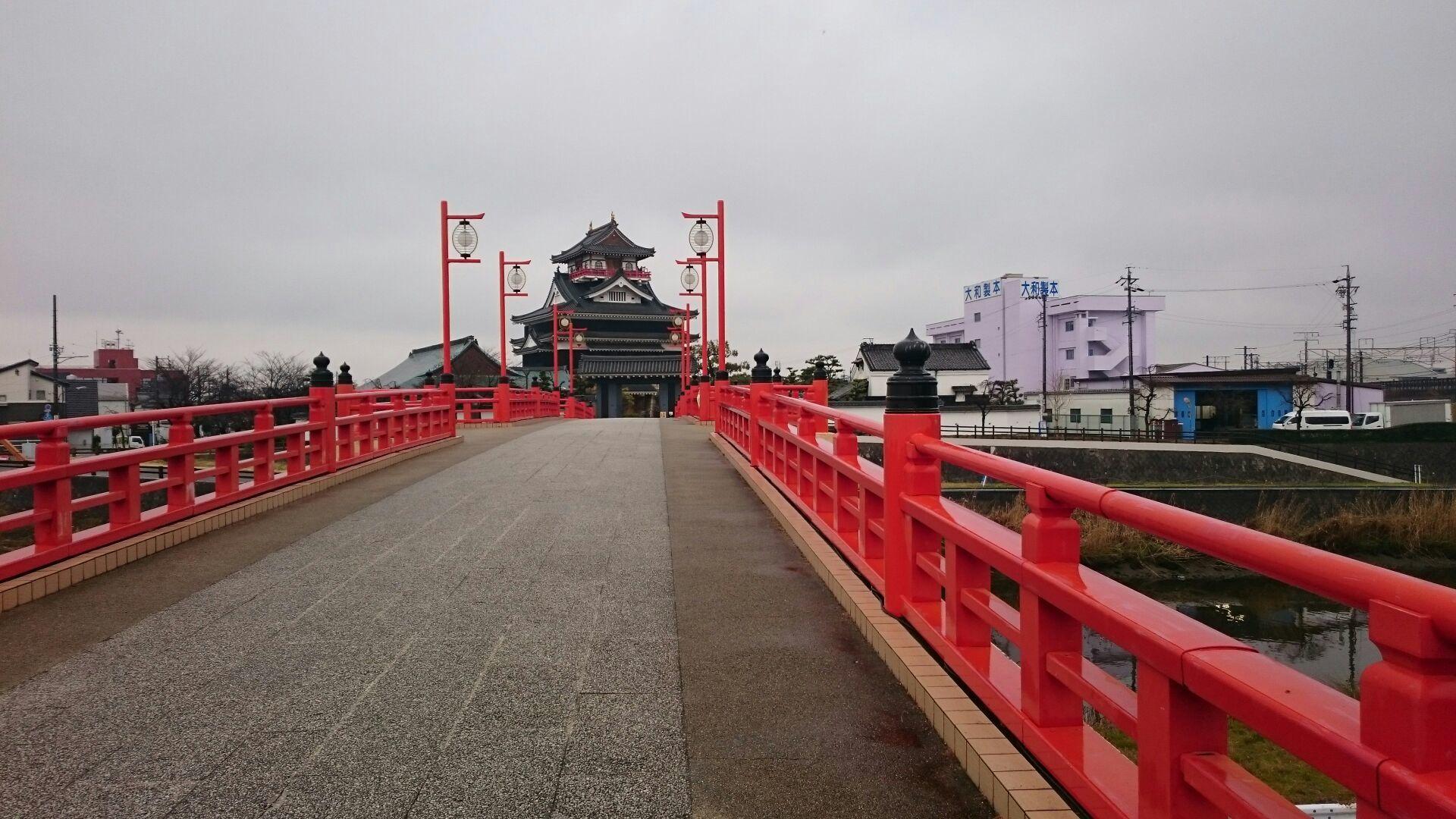 清洲城&大手橋